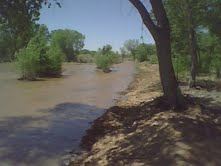 high flows on the Rio Grande