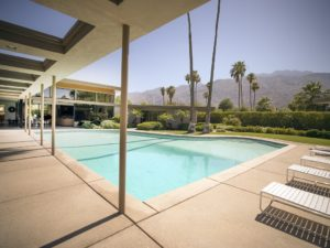 Frank Sinatra's Twin Palms Estate, a spectacular example of mid-century architecture in the heart of Palm Springs, California