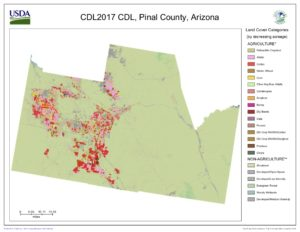 Map Of Central Arizona.For Central Arizona Farmers Coming To Terms With The Reality That A