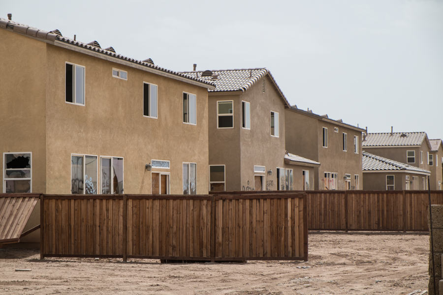 Imperial Valley housing development, east of Brawley, March 2014