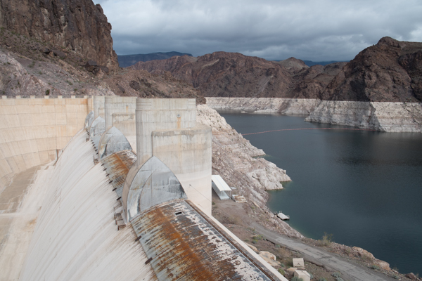 Hoover Dam WATER LEVEL July 2017 - YouTube |Hoover Dam Water