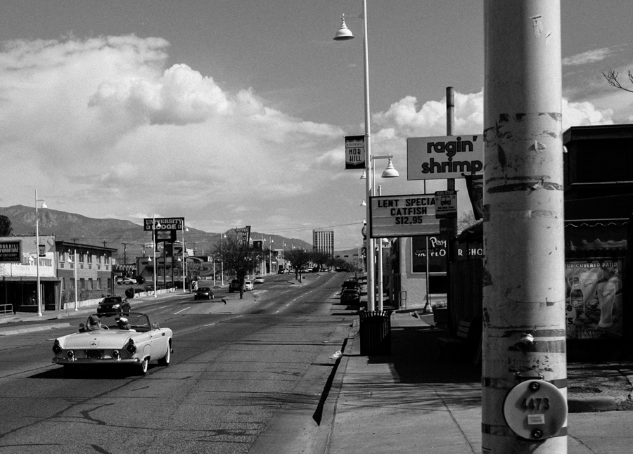 Route 66, Albuquerque, March 2015, by John Fleck