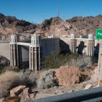 random picture of Hoover Dam and Lake Mead, meant to make it look really empty