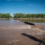 Albuquerque's Rio Grande drinking water diversion dam