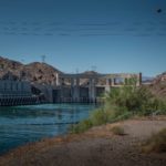 Parker Dam, Colorado River. June 22, 2019. By John Fleck