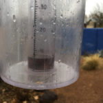 Breaking Albuquerque's dry streak, which ended Jan. 11 at 96 days