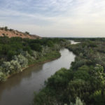 Rio Grande at Interstate 40, Albuquerque, May 21, 2018
