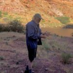The University of Arizona's Vic Baker on paleofloods of the Colorado River. Photo by Eric Kuhn