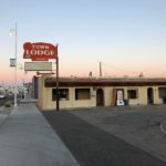 What used to be the Town Lodge, one of Albuquerque's old Route 66 motels