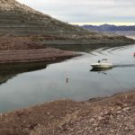 Up close with Lake Mead's bathtub ring