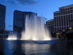 Bellagio Fountain, Las Vegas NV