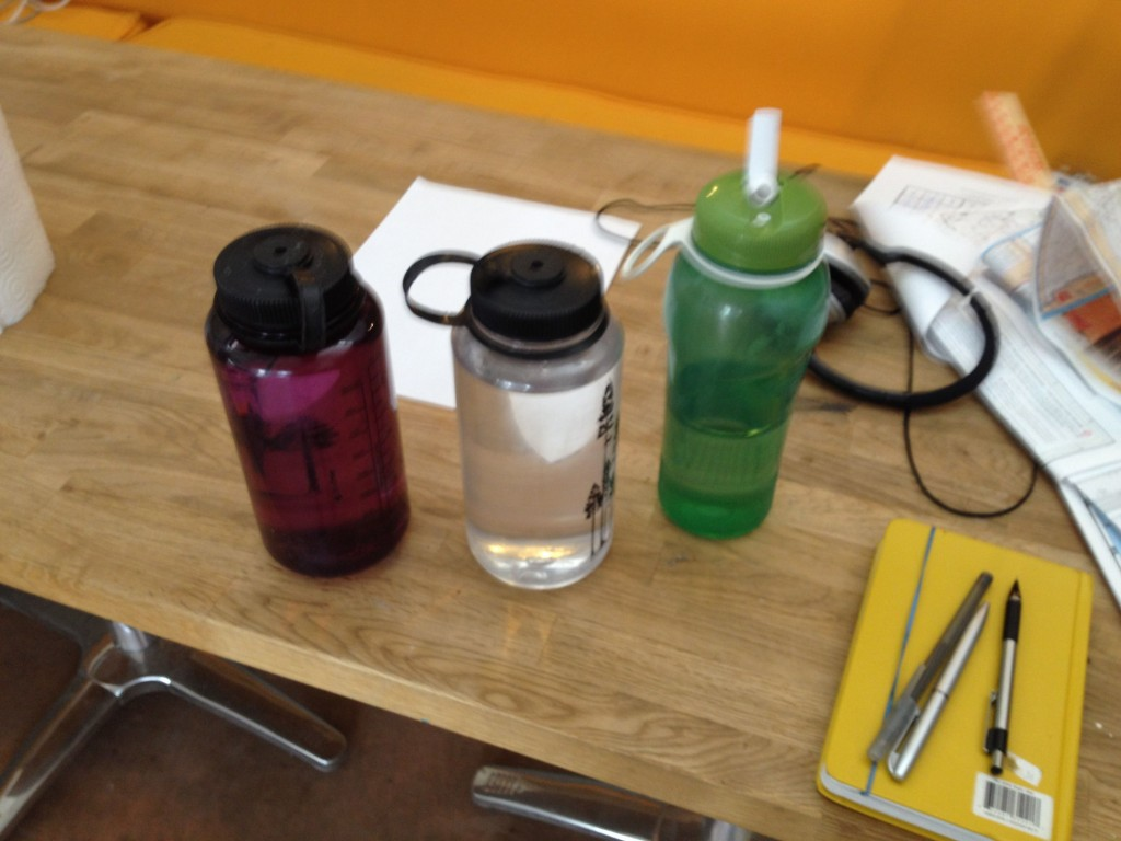 Water bottles from Yuma