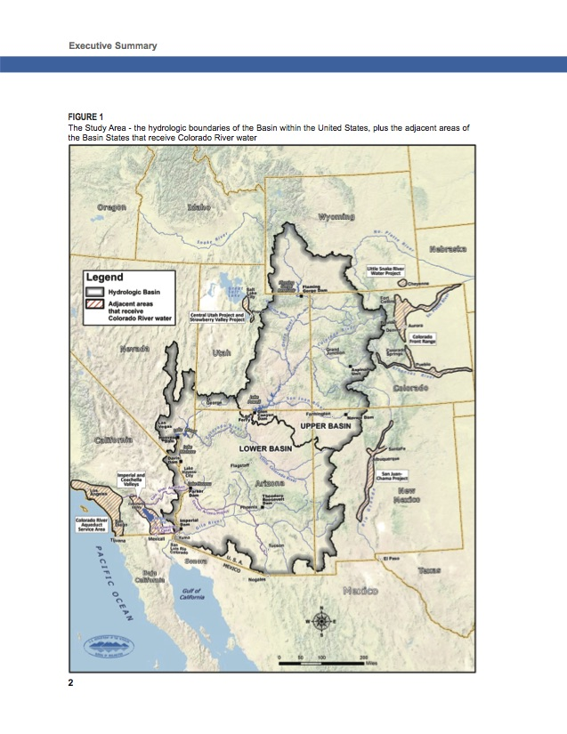 Mapping the Colorado River Delta a recognition that Mexico is a