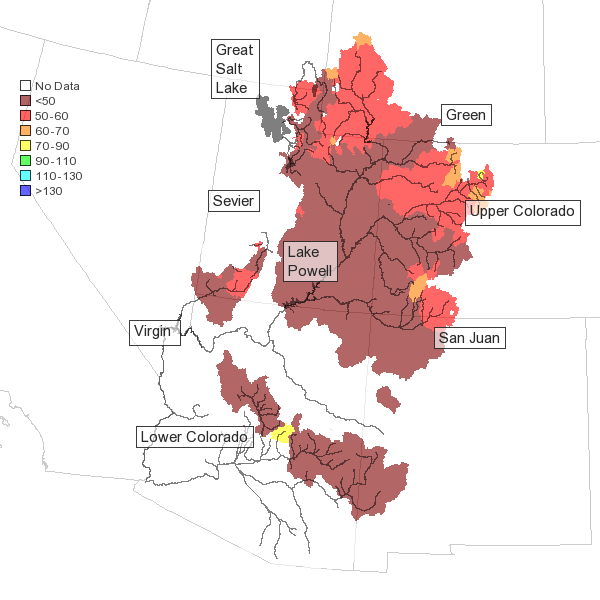 2013 Colorado Basin forecast, courtesy CBRFC
