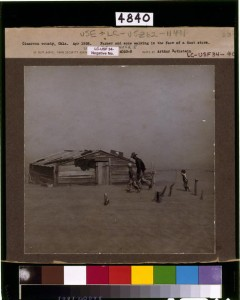 Arthur Rothstein's iconic Dust Bowl picture