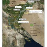 Colorado River delta pulse flow map, courtesy IBWC
