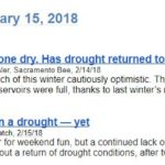 Drought Headlines