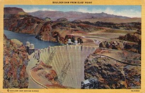 Boulder Dam from Elks' Point