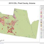 Pinal County crop coverage, courtesy USDA Cropscape