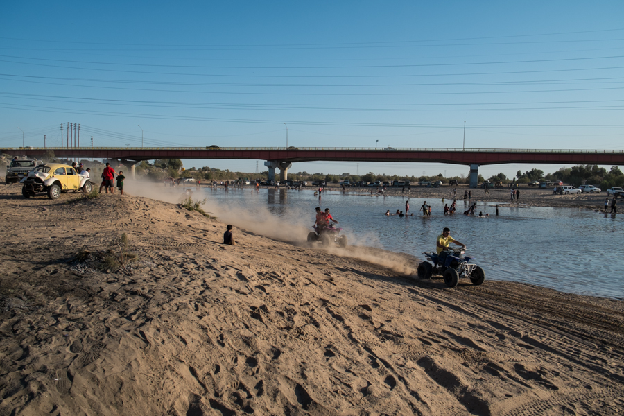 River Party at San Luis Rio Colorado, March 25, 2014, by John Fleck
