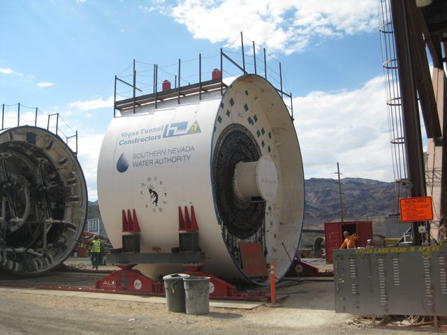 tunnel boring machine, Southern Nevada Water Authority third intake