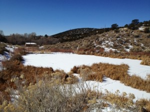 Two-Mile Dam Site, Santa Fe, NM